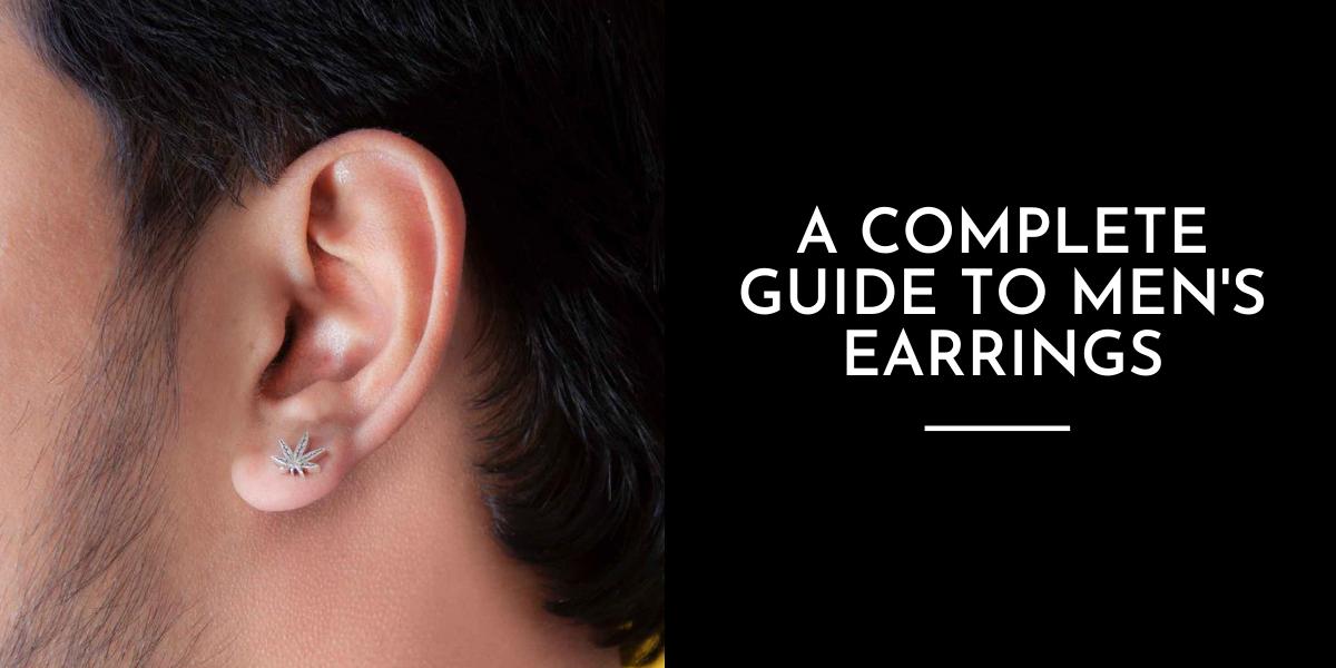 Types of Earrings for Men | A Complete Men's Earrings Guide