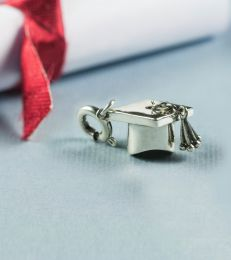 You Did It! Graduation Cap Charm by fourseven