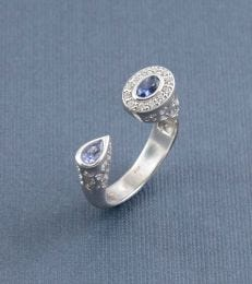 Abha Ring in Iolite by fourseven