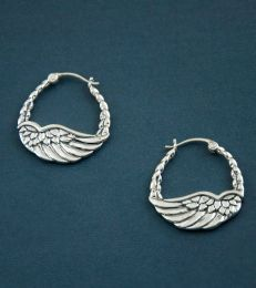 Angel Wing Baali Earrings by fourseven