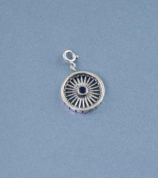 Sterling Silver Wheel of Progress Charm by fourseven