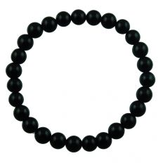 Black Onyx Bead Bracelet by fourseven