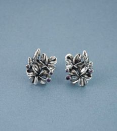 Blooming Champa Stud Earrings by fourseven