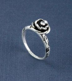 Blooming Rose Ring by fourseven