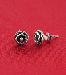 Blooming Rose Stud Earrings by fourseven