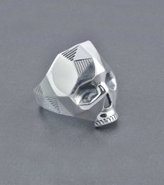 Born to be Wild Skull RIng by fourseven