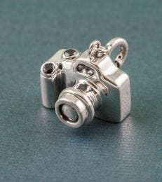 Capture the Moment DSLR Camera Charm