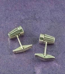Chai Cutting Cufflinks by fourseven