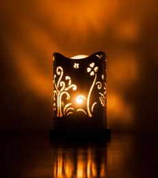 Choose Happy Tealight Holder by fourseven