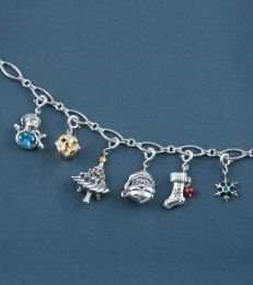 Merry Christmas Charms Bracelet by fourseven