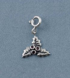 Christmas Holly Charm by fourseven