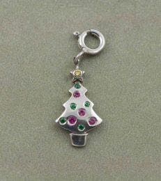 Christmas Tree Charm by fourseven