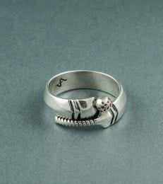 Crazy about Cricket Ring by fourseven