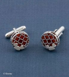 Disney Mickey Mouse Cufflinks in Red Onyx by fourseven