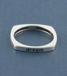 Dream Believe Achieve Message Ring by fourseven