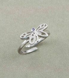 Dreamy Dragonfly Adjustable Ring by fourseven