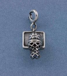 Dunk It! Basketball Charm