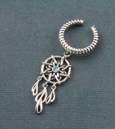 Sweet Dreams Dreamcatcher Earcuff composition picture