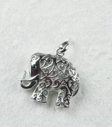 Jaali Elephant Pendant composition picture