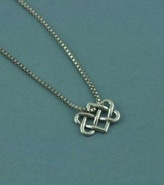Eternal Connection Pendant with Interlinked Box Chain by fourseven