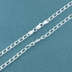 Silver Cable Link Chain Bold-20