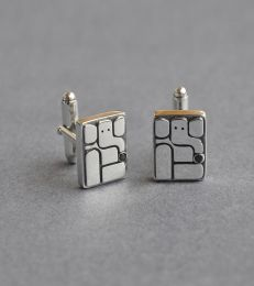 Atharva Cufflinks by fourseven composition picture