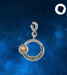 Adventuresome Gemini Zodiac Charm by fourseven