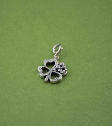 Good Luck Clover Charm by fourseven