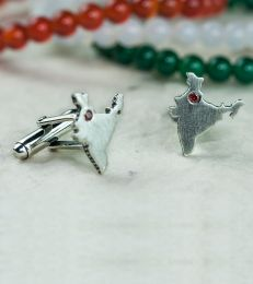 Jai Hind India Cufflinks
