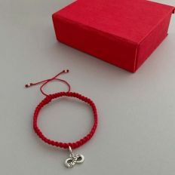 Infinity Adjustable Valentine Bracelet