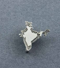 Jai Hind India Brooch by fourseven