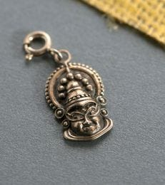 Kathakali mask charm by fourseven