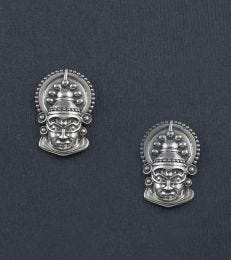 Kathakali Mask Stud Earrings