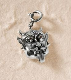 Keep Evil at Bay Mask charm by fourseven