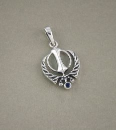 Divine Knowledge Khanda Pendant by fourseven