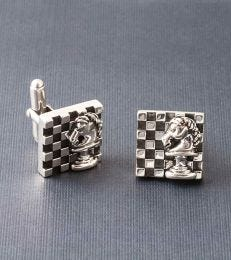 Knight's Move Cufflinks Composition Picture