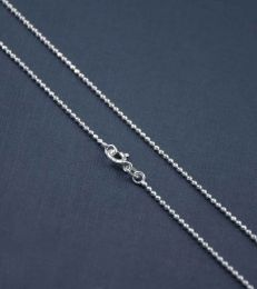 Sterling Silver Large Bead Chain by fourseven