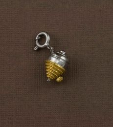 Lattu Spinning Top Charm by fourseven