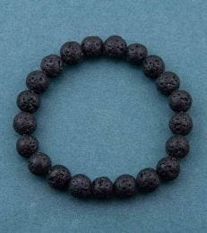 Lava Bead Bracelet by fourseven