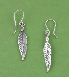 Evergreen Leaf Dangler Earrings by Fourseven