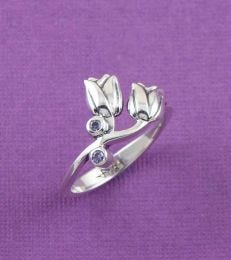 Les Fleurs Tulips Ring by fourseven