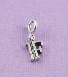 fourseven Letter F Charm