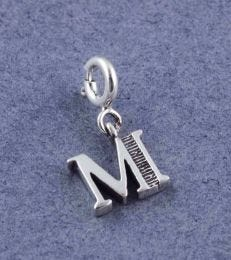 Letter M Charm by fourseven