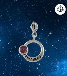 Balanced Libra Zodiac Charm by fourseven