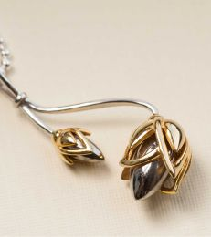Lotus Bud Pendant by fourseven