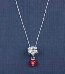 Lucky Ladybug Charm Necklace by fourseven