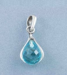 March Birthstone Pendant with Aquamarine by fourseven