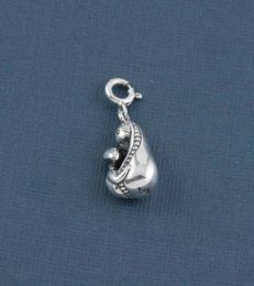 Sterling Silver Mother and Child Charm by fourseven
