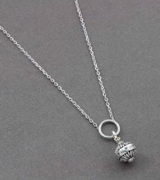 Motherhood Charm with Forever Link Charm Necklace