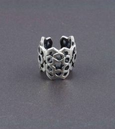 Mughal Lattice Ear Cuff
